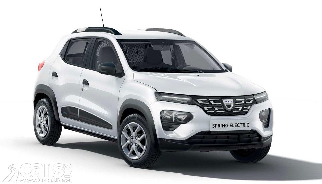 Photo New Dacia Spring EV