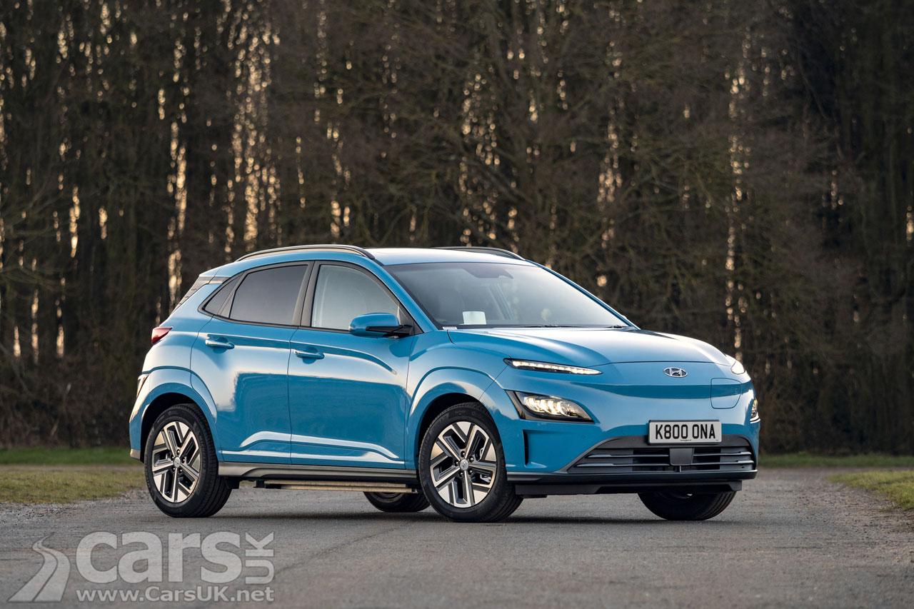 Photo Updated Hyundai Kona ELECTRIC