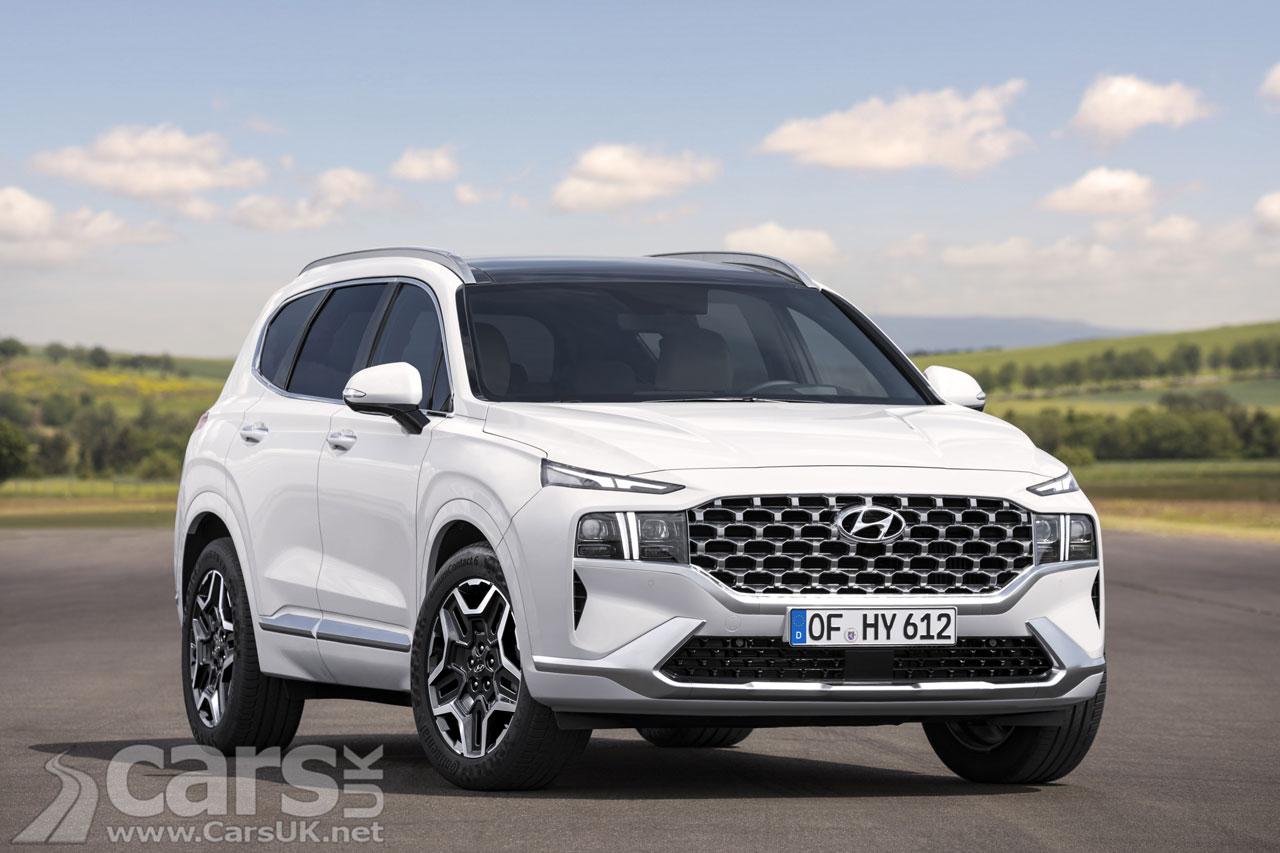 Photo New Hyundai Santa Fe SUV