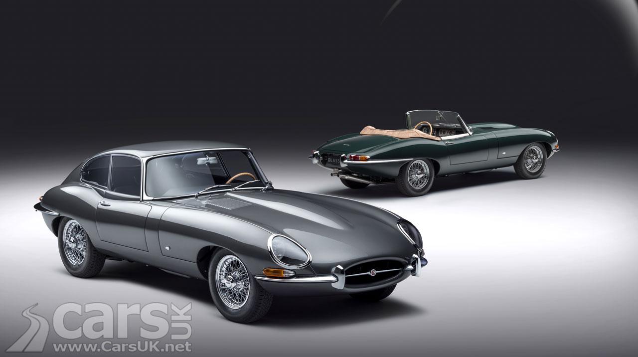 Photo Jaguar Classic Jaguar E-type 60 Collection