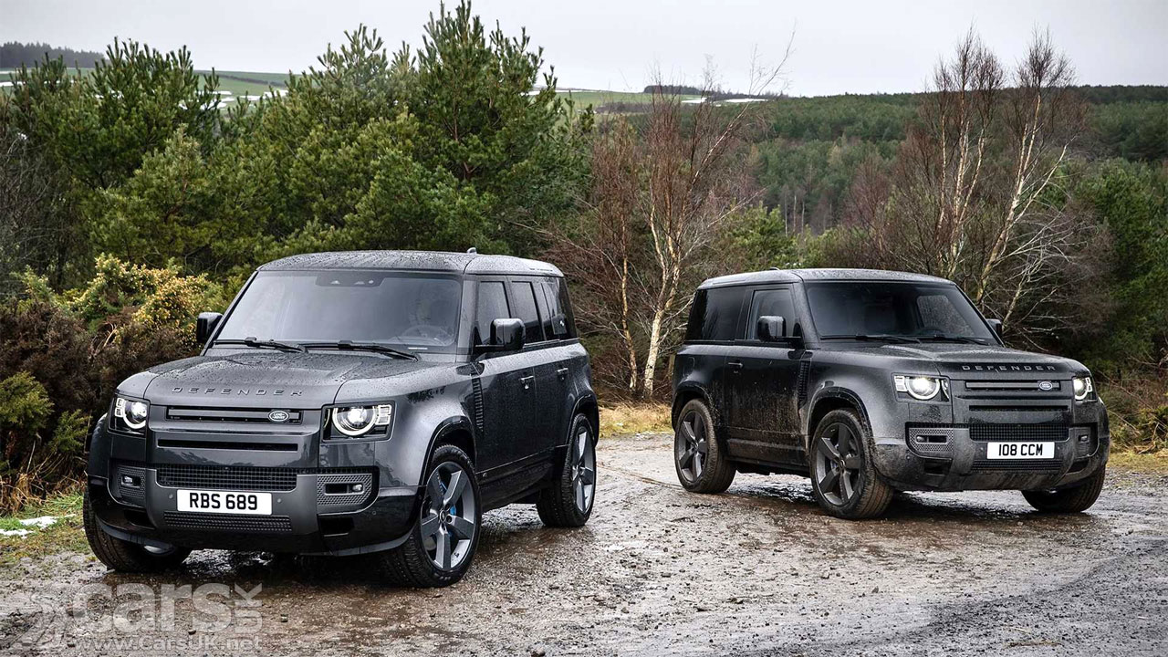 Photo Land Rover Defender 90 and 110