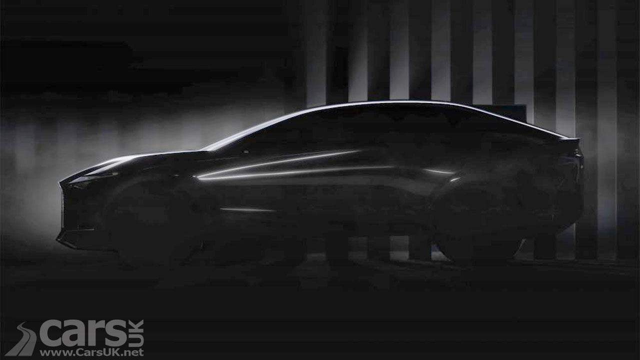 Photo Lexus tease new electric concept car