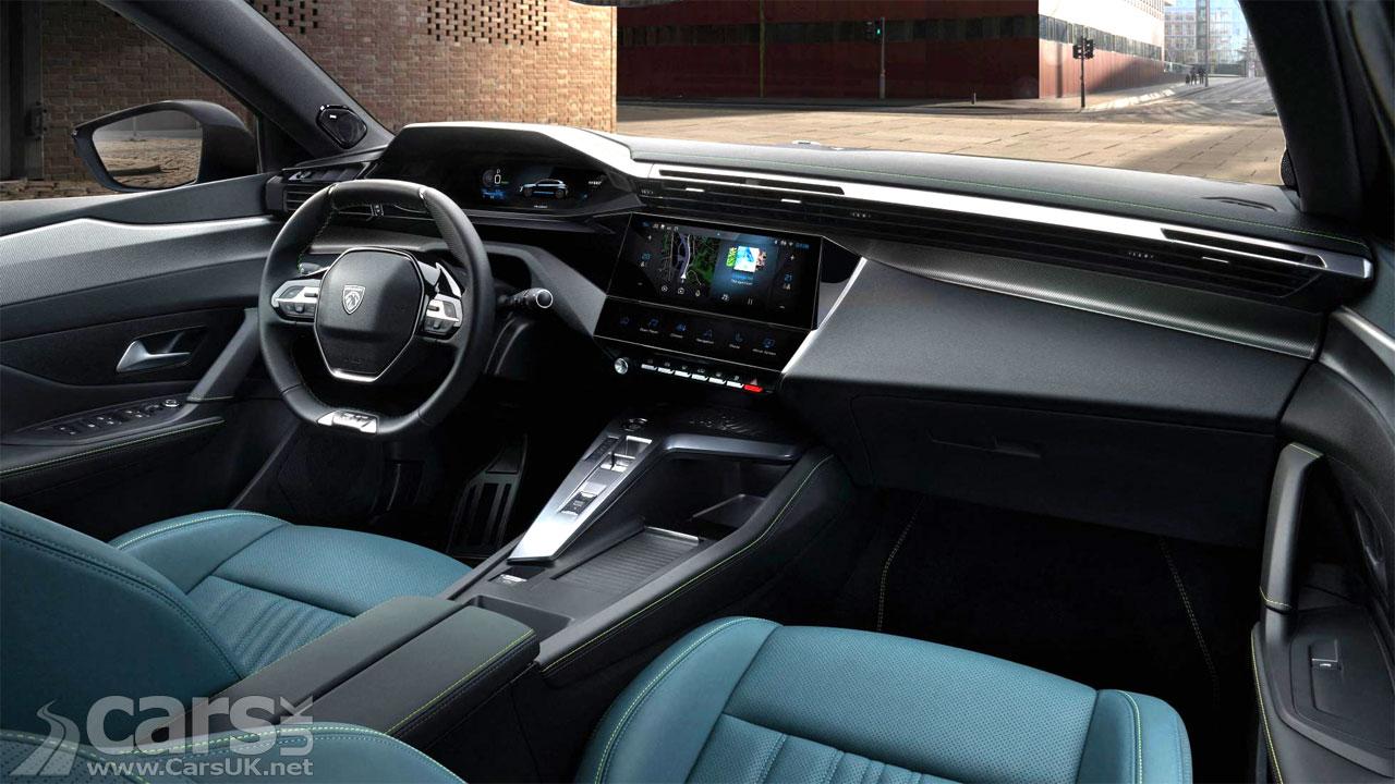 Photo New Peugeot 308 interior
