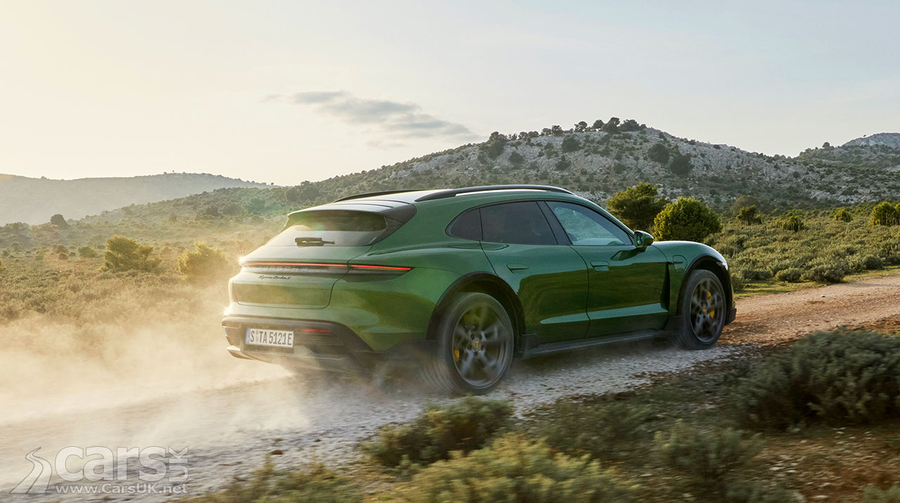 Photo Porsche Taycan Cross Turismo