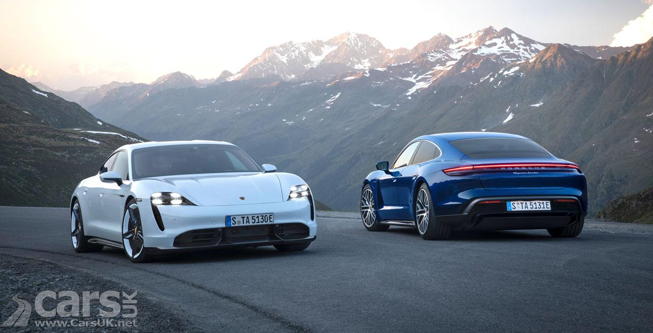 Photo Porsche Taycan gets software upgrade
