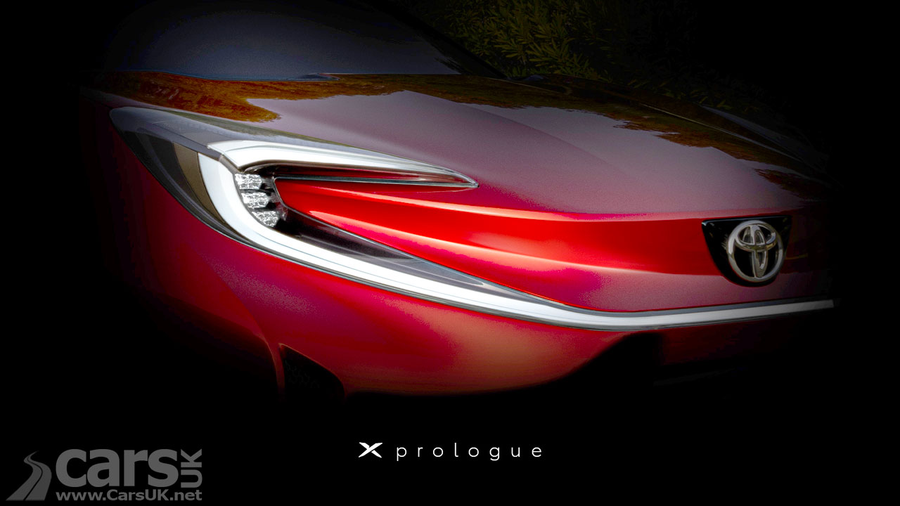 Photo Toyota X Prologue Tease
