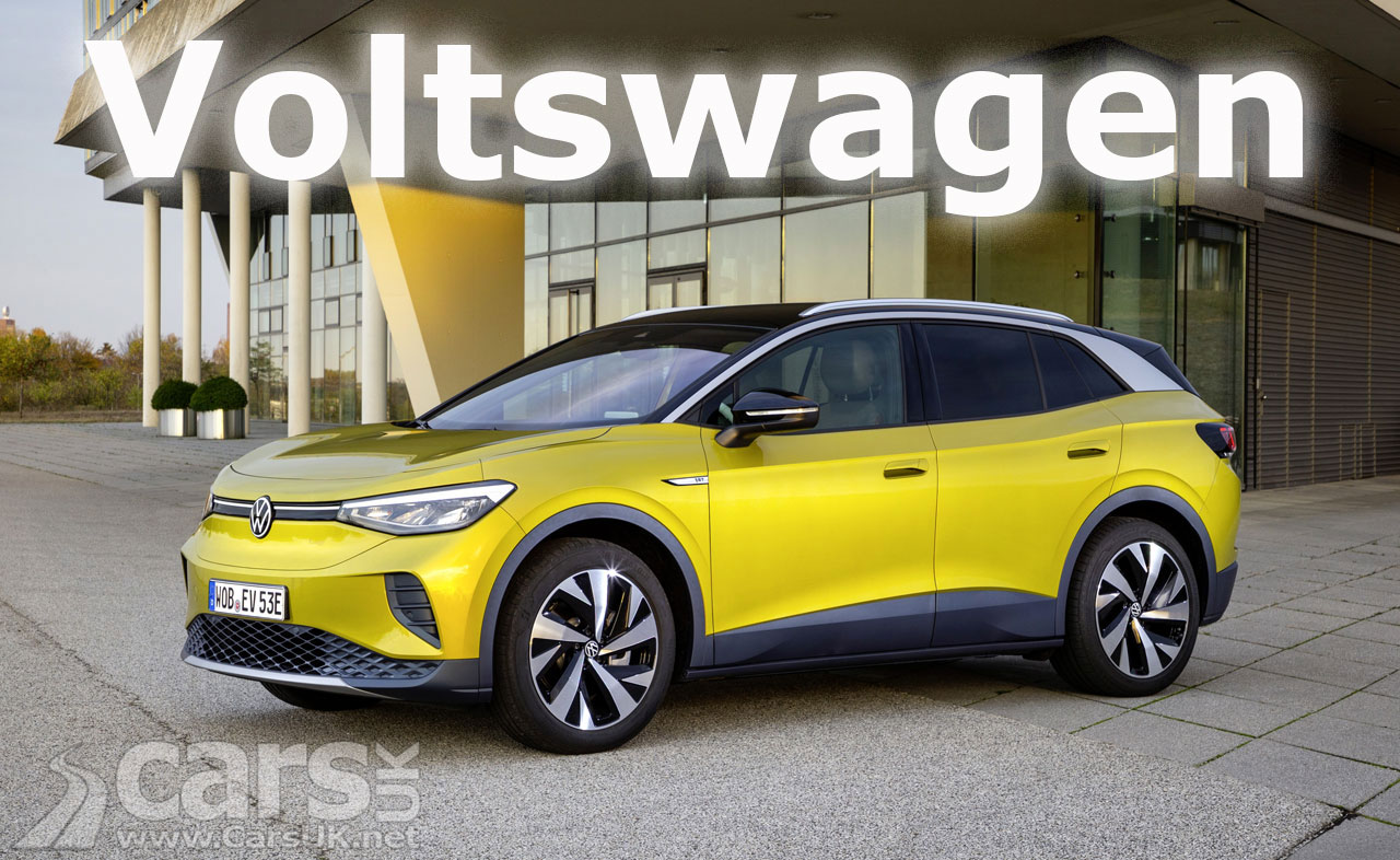 Photo Volkswagen changing its name to VOLTSWAGEN?