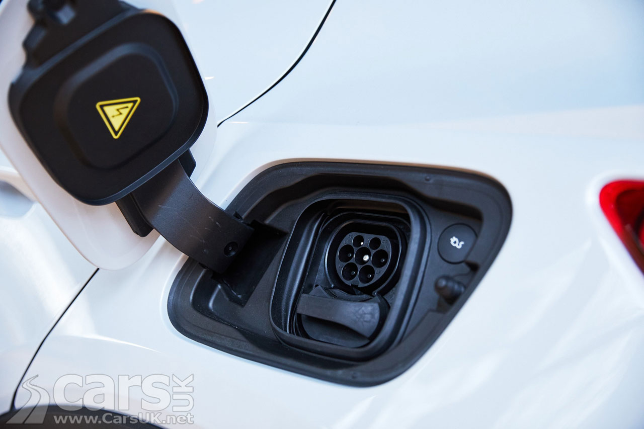 Photo electric Volvo Charge Point