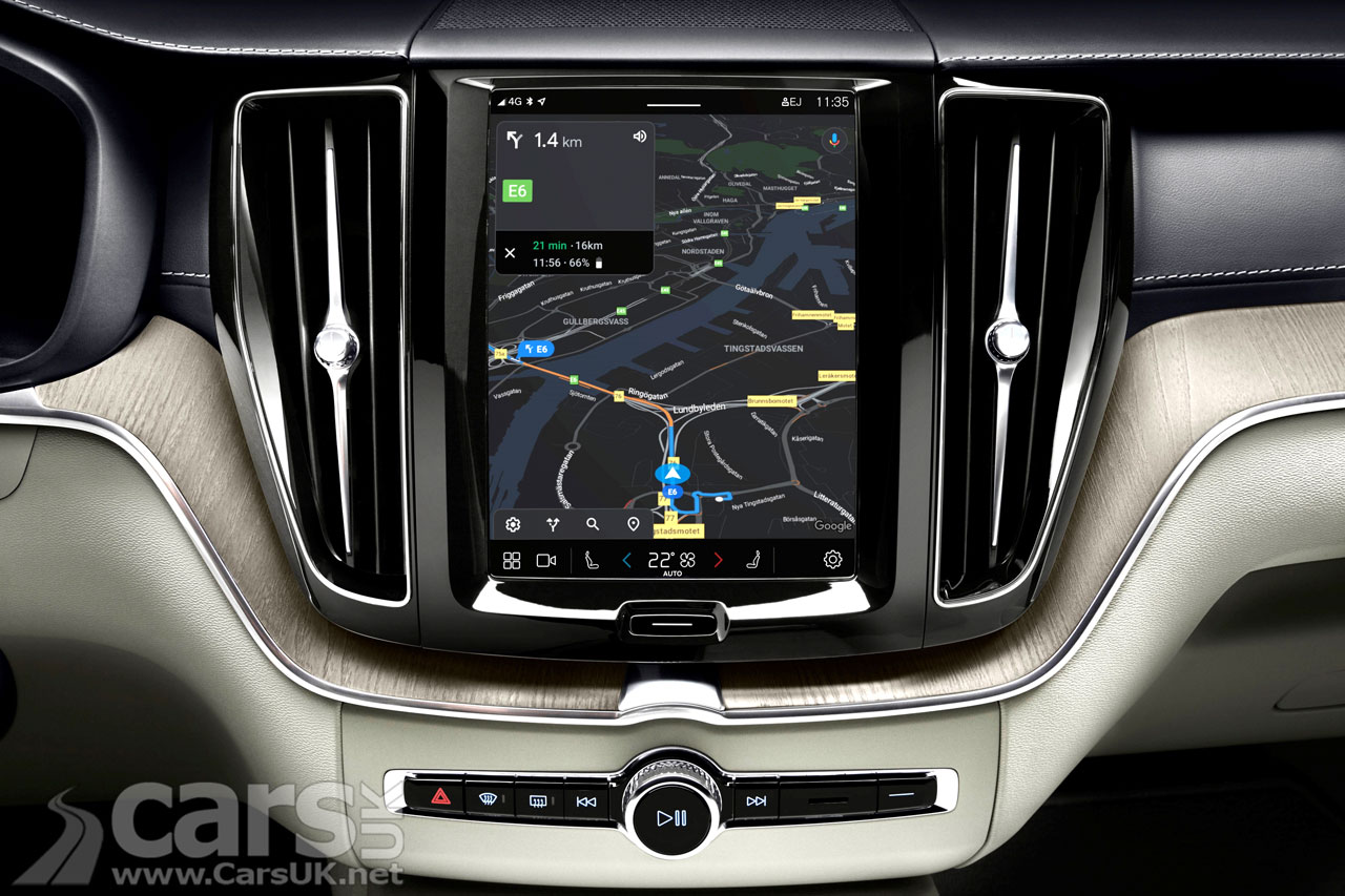 Photo Volvo S90 and V90 Google Android Infotainment
