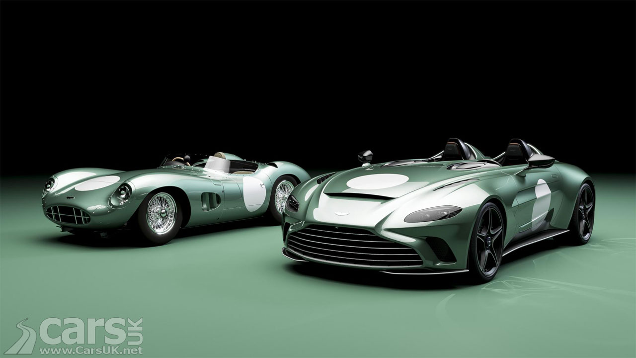 Photo Aston Martin V12 Speedster DBR1 Spec and Aston Martin DBR1