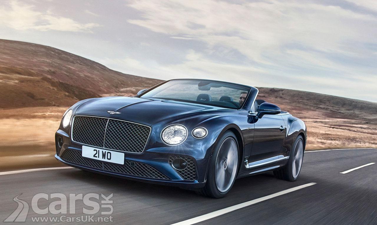 Photo New Bentley Continental GT Speed Convertible