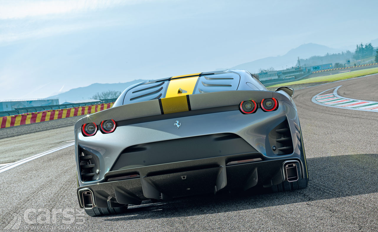 Photo Ferrari 812 Superfast Special Edition First Rear View