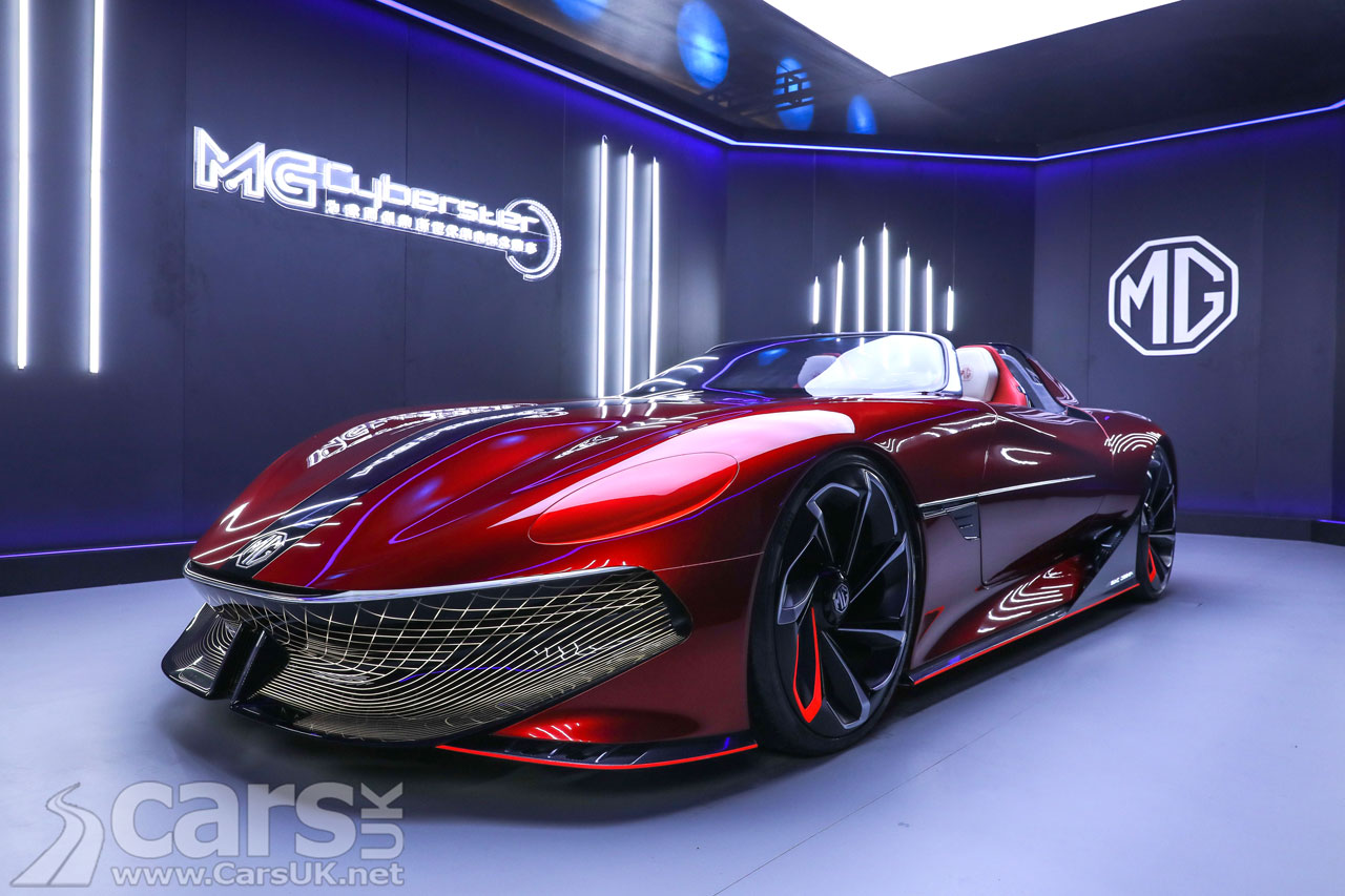 Photo MG Cyberster Concept