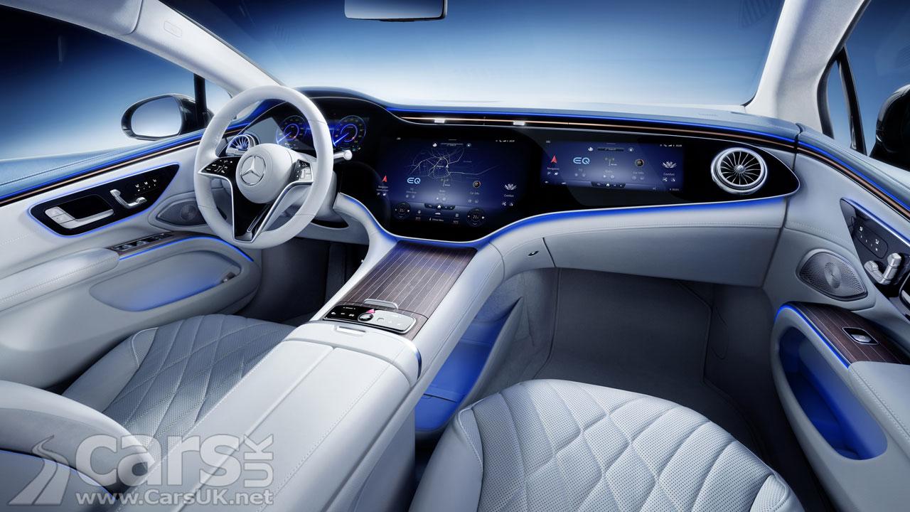 Photo Mercedes EQS Interior