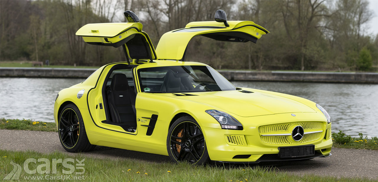 Photo Mercedes-AMG SLS Electric Drive up for sale