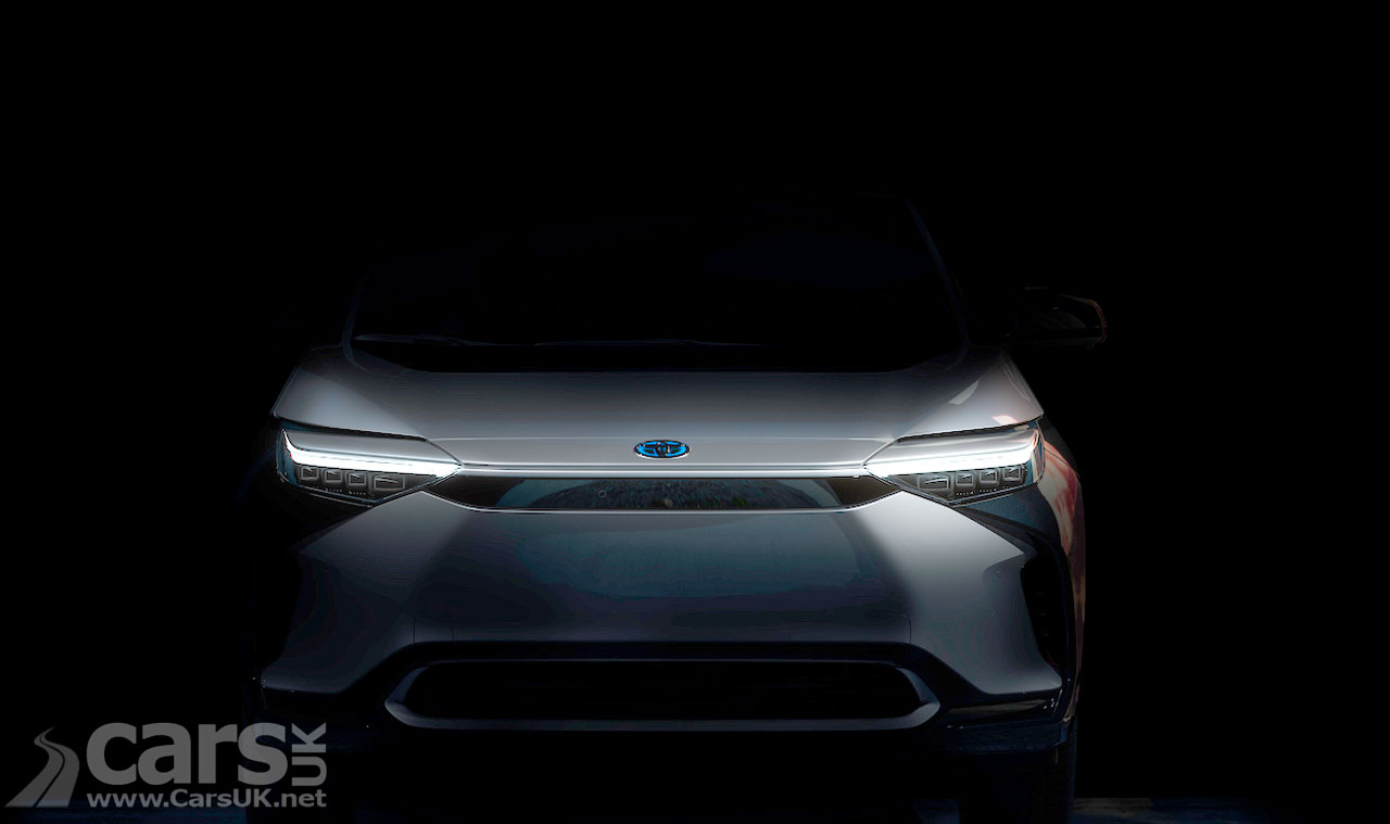 Photo Toyota BZ4X Tease