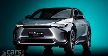Photo Toyota bZ4X Electric SUV Concept