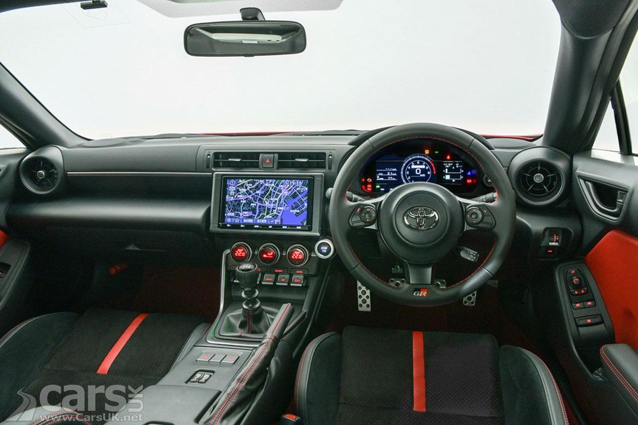 Photo New Toyota GR86 Interior