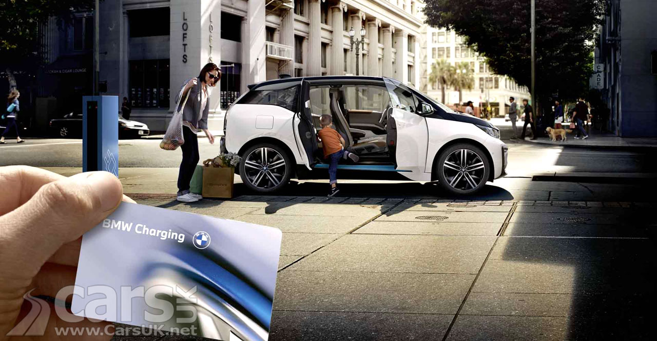 Photo BMW and MINI Charging in the UK
