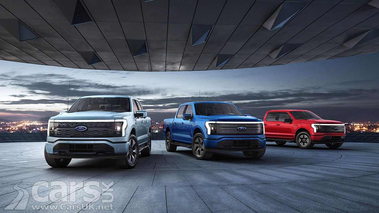 Photo Electric Ford F-150 Lightning