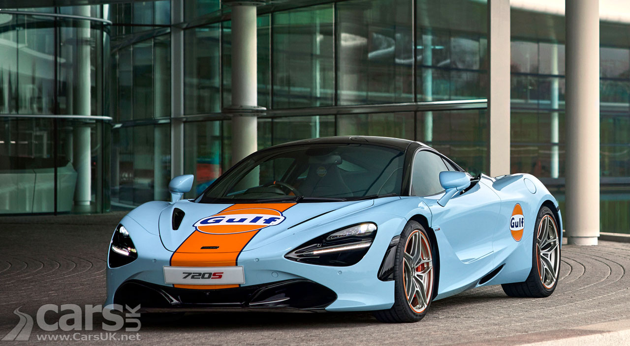 Photo McLaren 720s Gulf Livery MSO