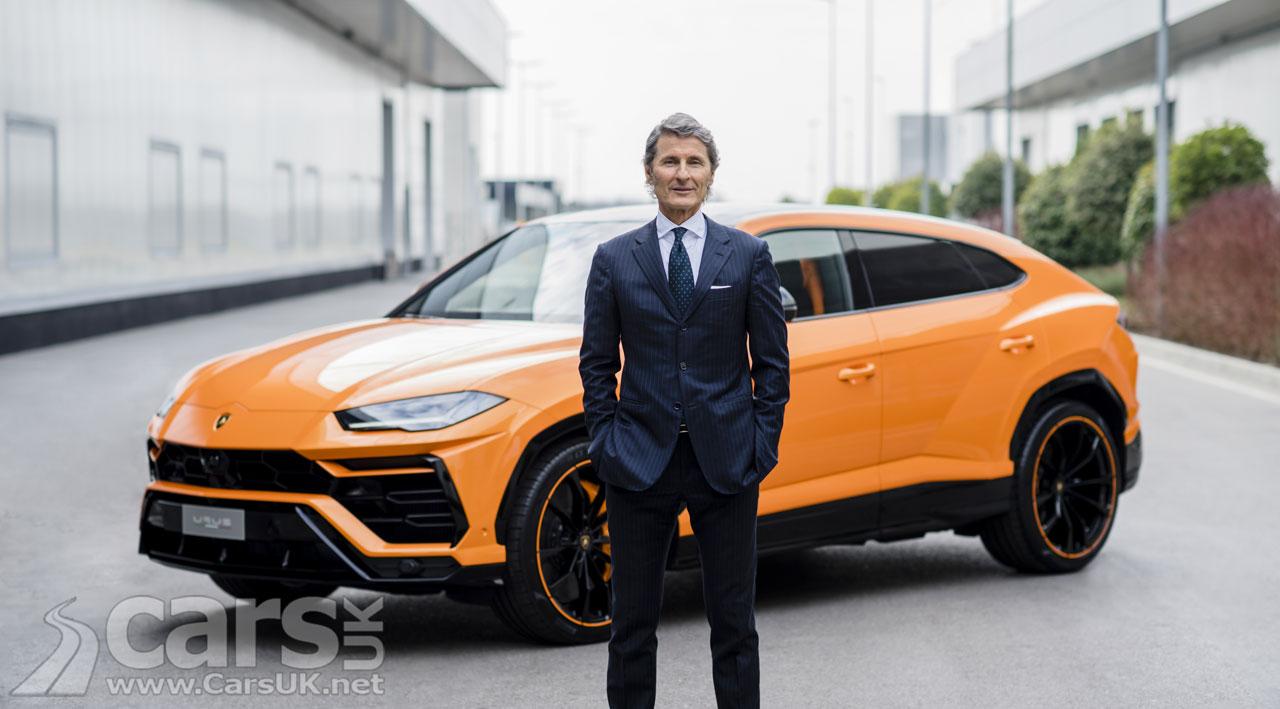 Photo Lamborghini boss Stefan Winkelmann
