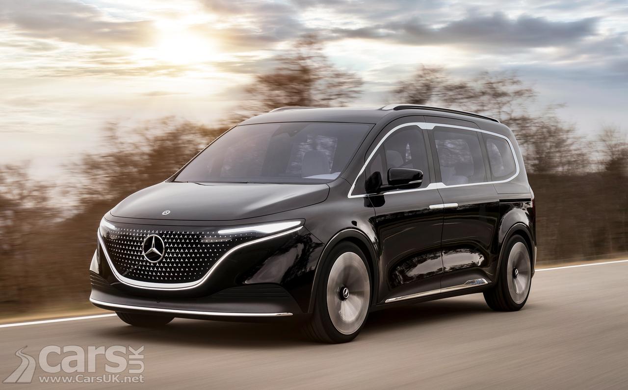 Photo Mercedes Concept EQT