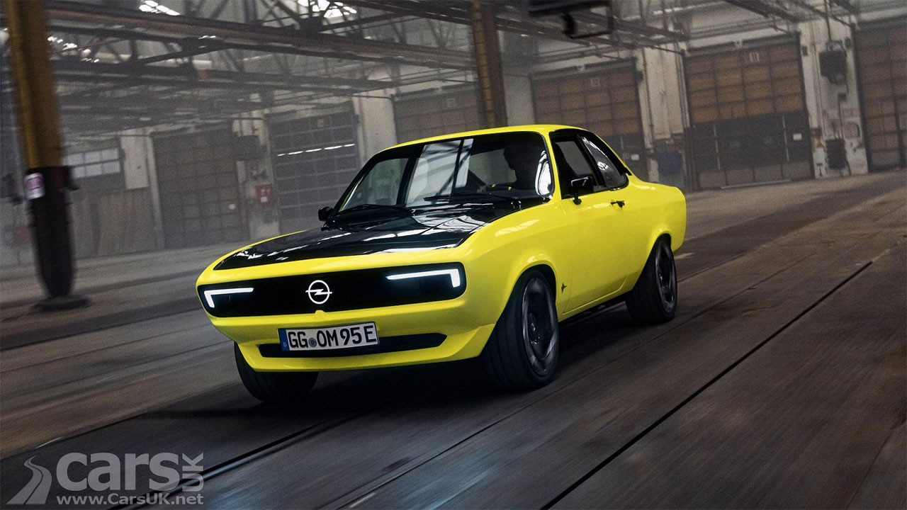 Photo Opel Manta GSe ElektroMOD