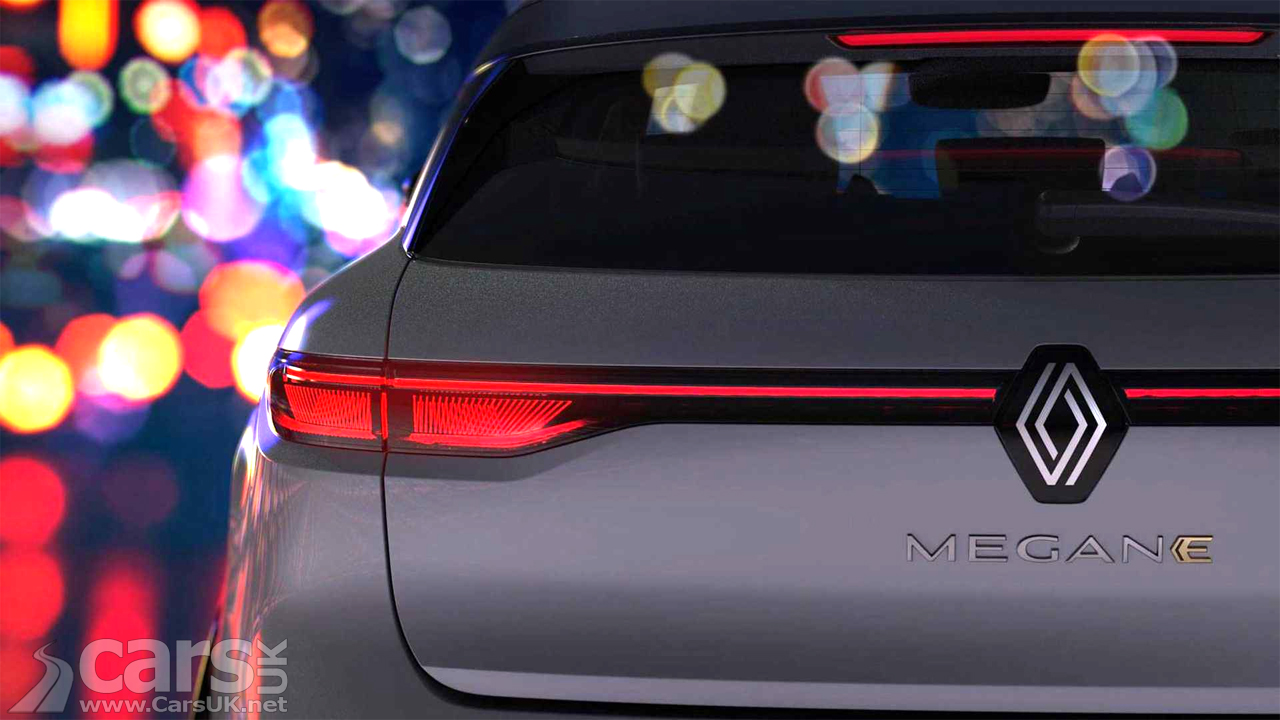 Photo Renault Megane E-Tech Electric Tease