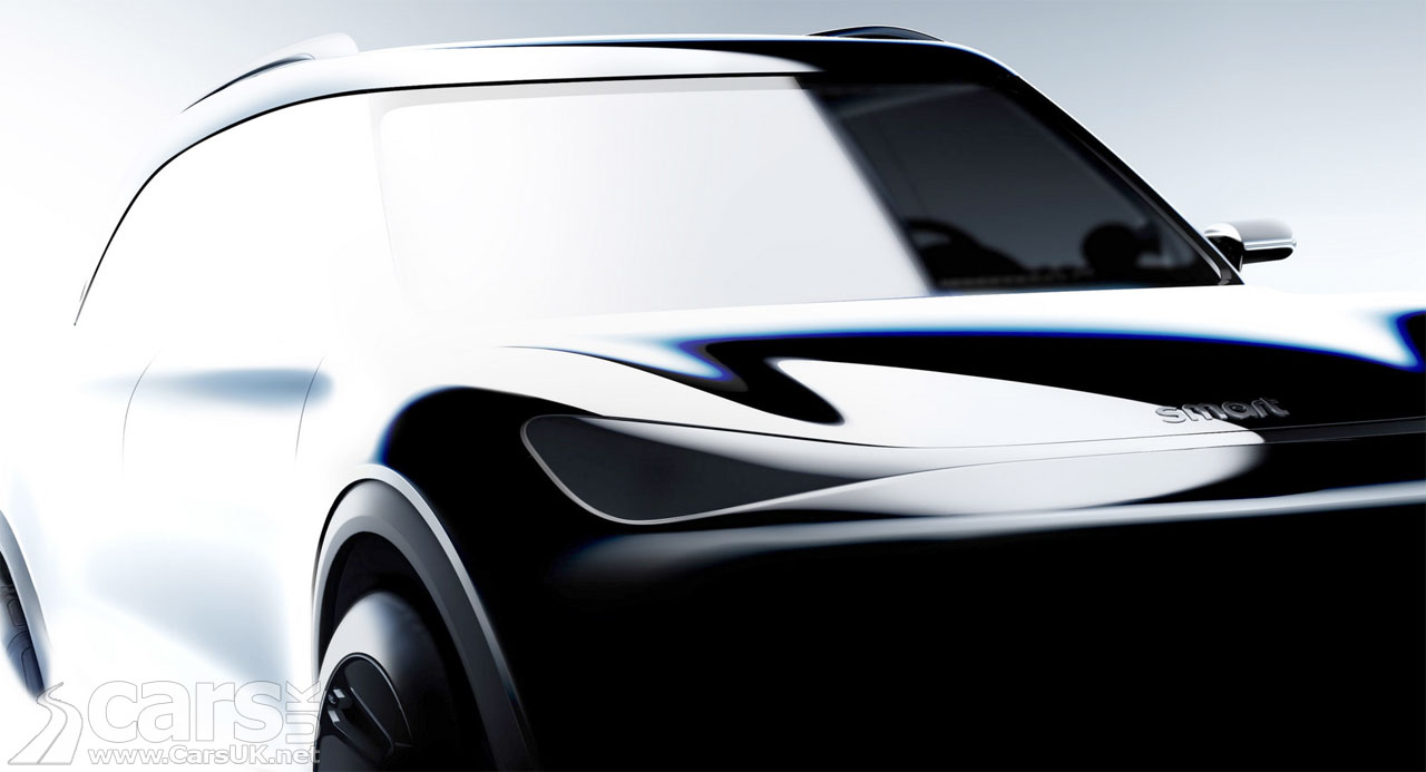 Photo Smart ELECTRIC SUV tease