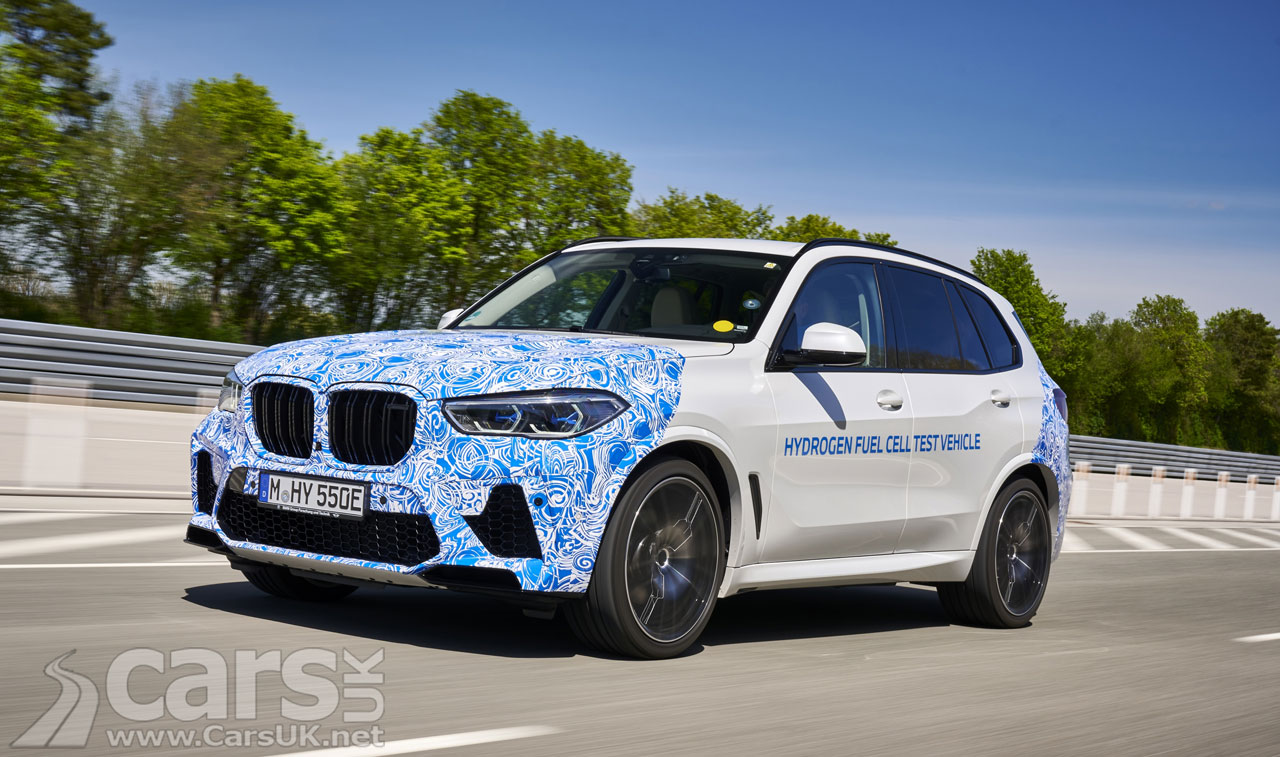 Photo BMW i Hydrogen NEXT Testing