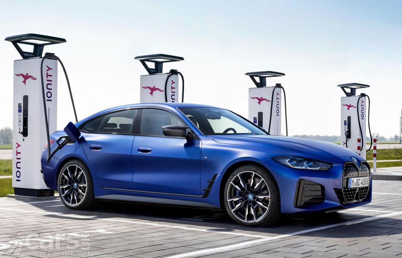 Photo BMW i4 Charging