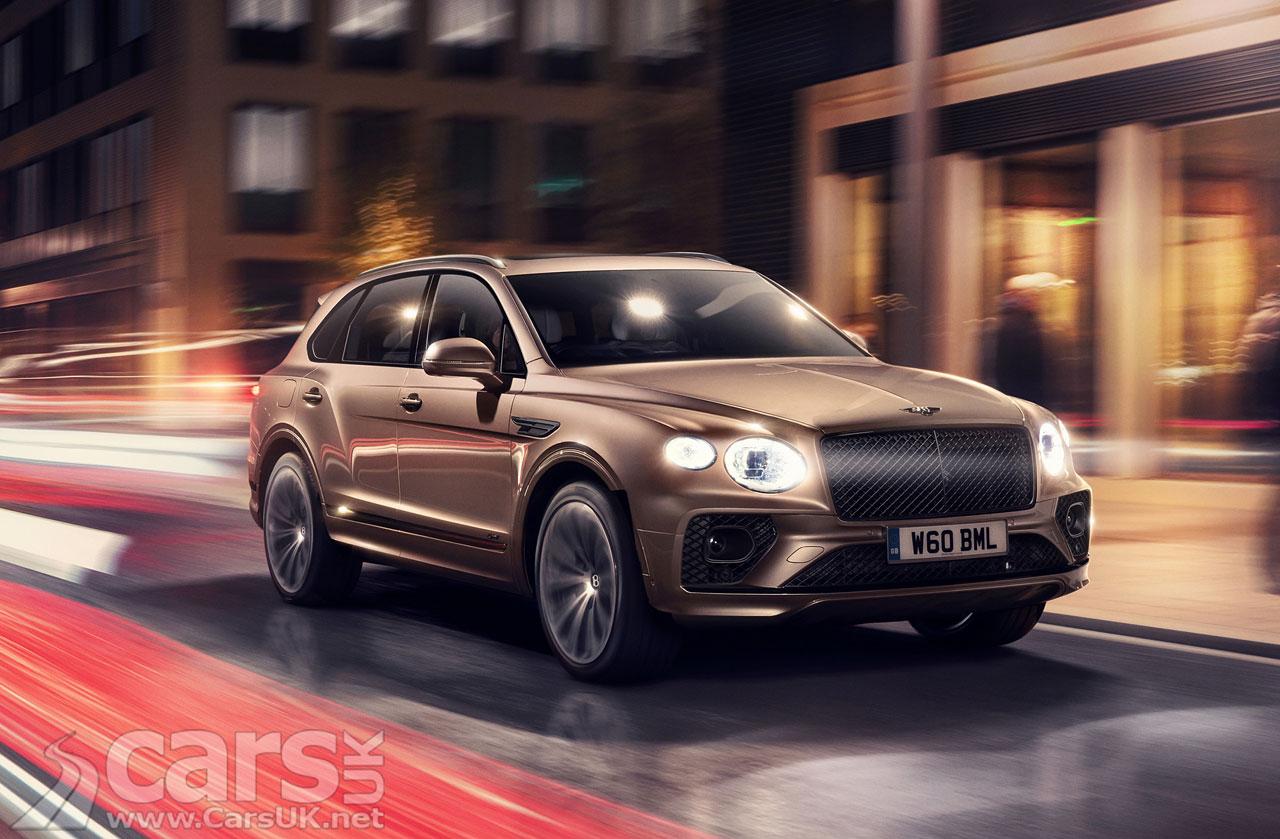 Photo New Bentley Bentayga Hybrid UK