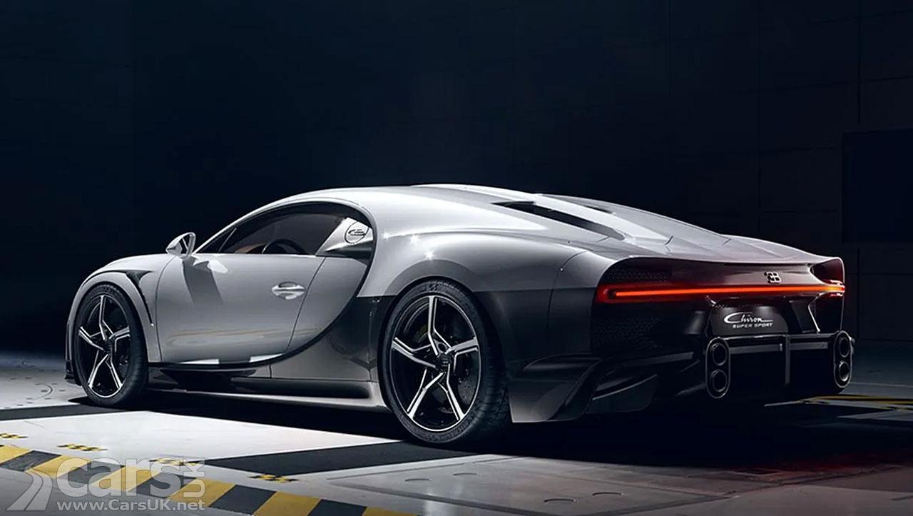 Photo Bugatti Chiron Super Sport Rear View