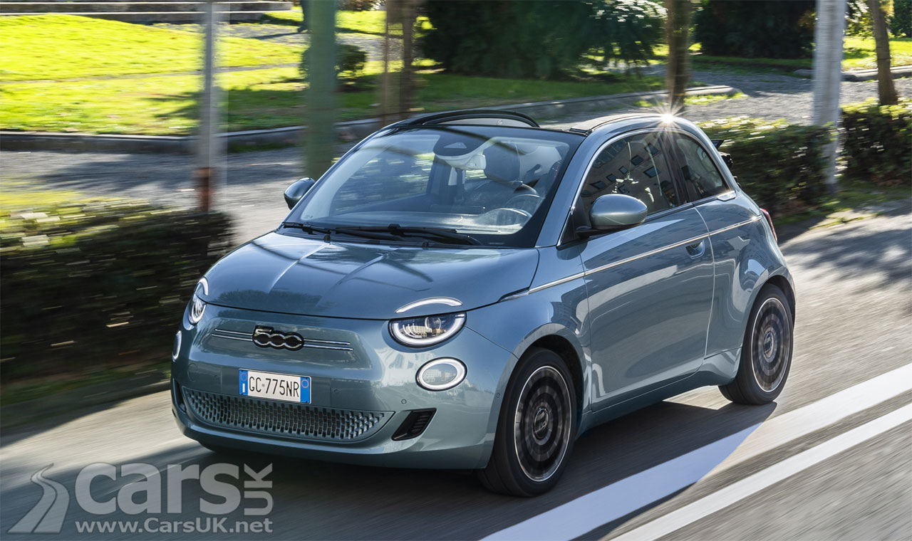 Photo Electric Fiat 500