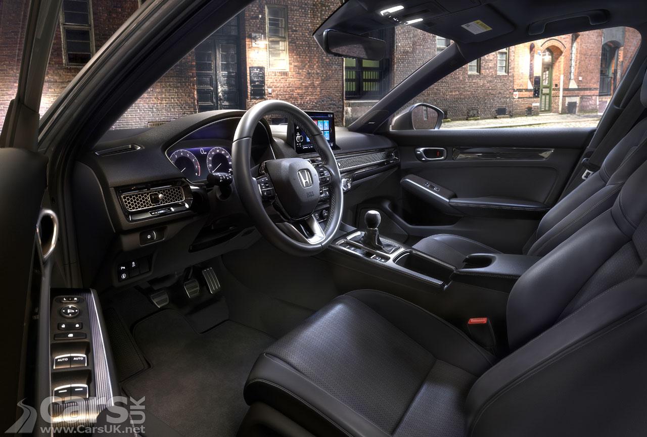 Photo New 2022 Honda Civic Interior