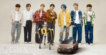 Photo Hyundai, Boston Dynamics and BTS