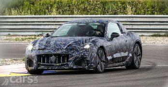 Photo New Maserati GranTurismo EV Prototype