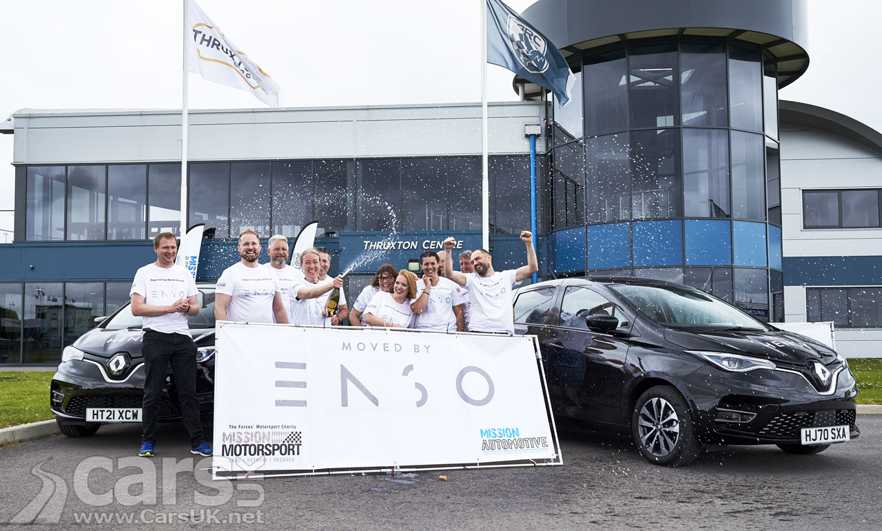 Photo New Renault Zoe Hypermiling Record