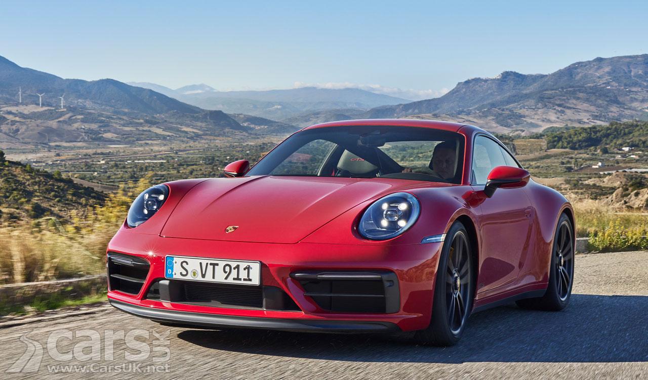 Photo New Porsche 911 GTS