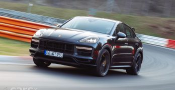 Photo New Porsche Cayenne Turbo Coupe 'Plus' Nurburgring