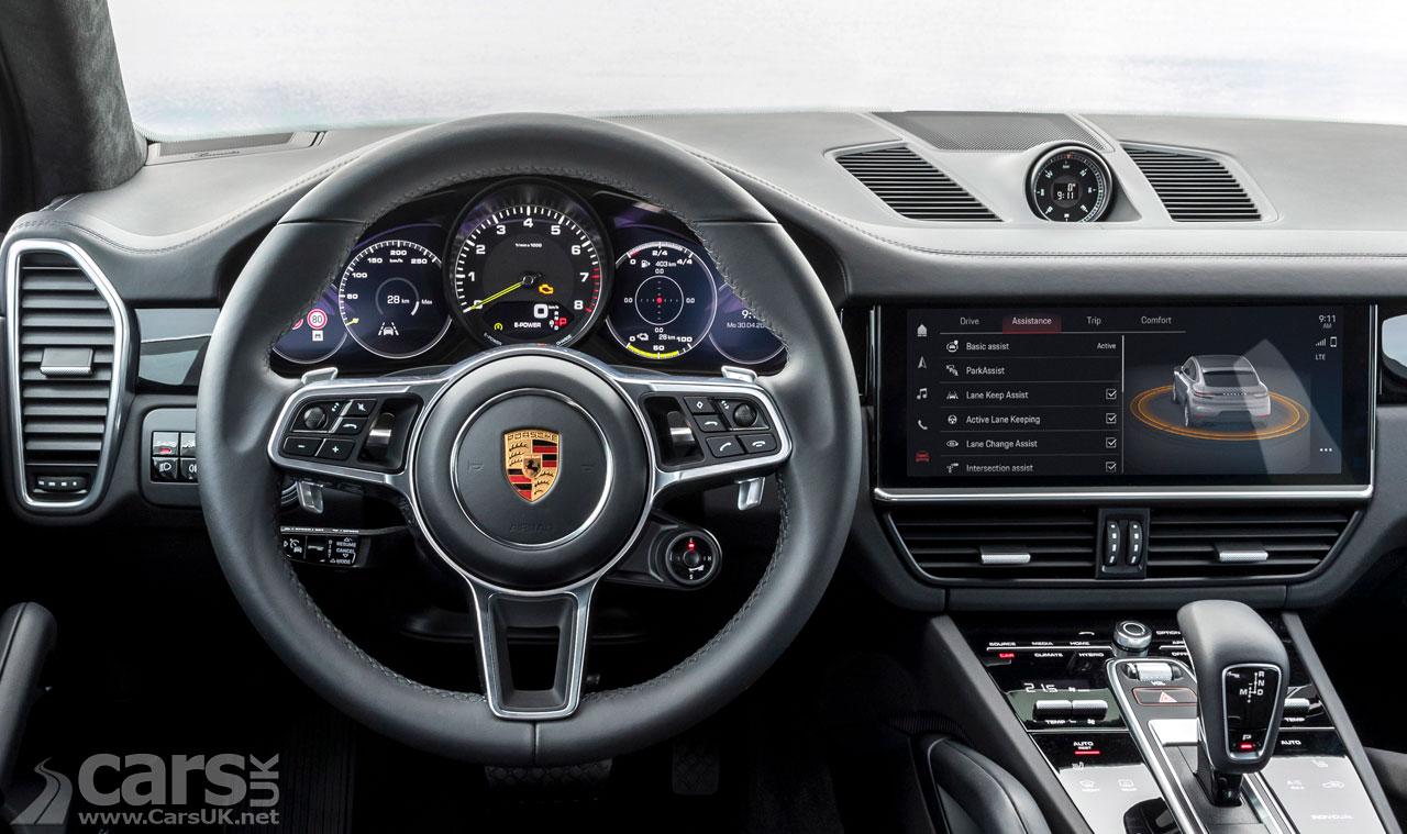 Photo Porsche PCM 6.0