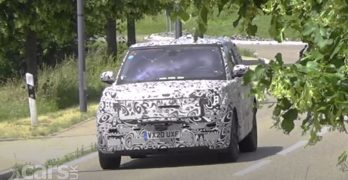 Photo New Range Rover spied testing