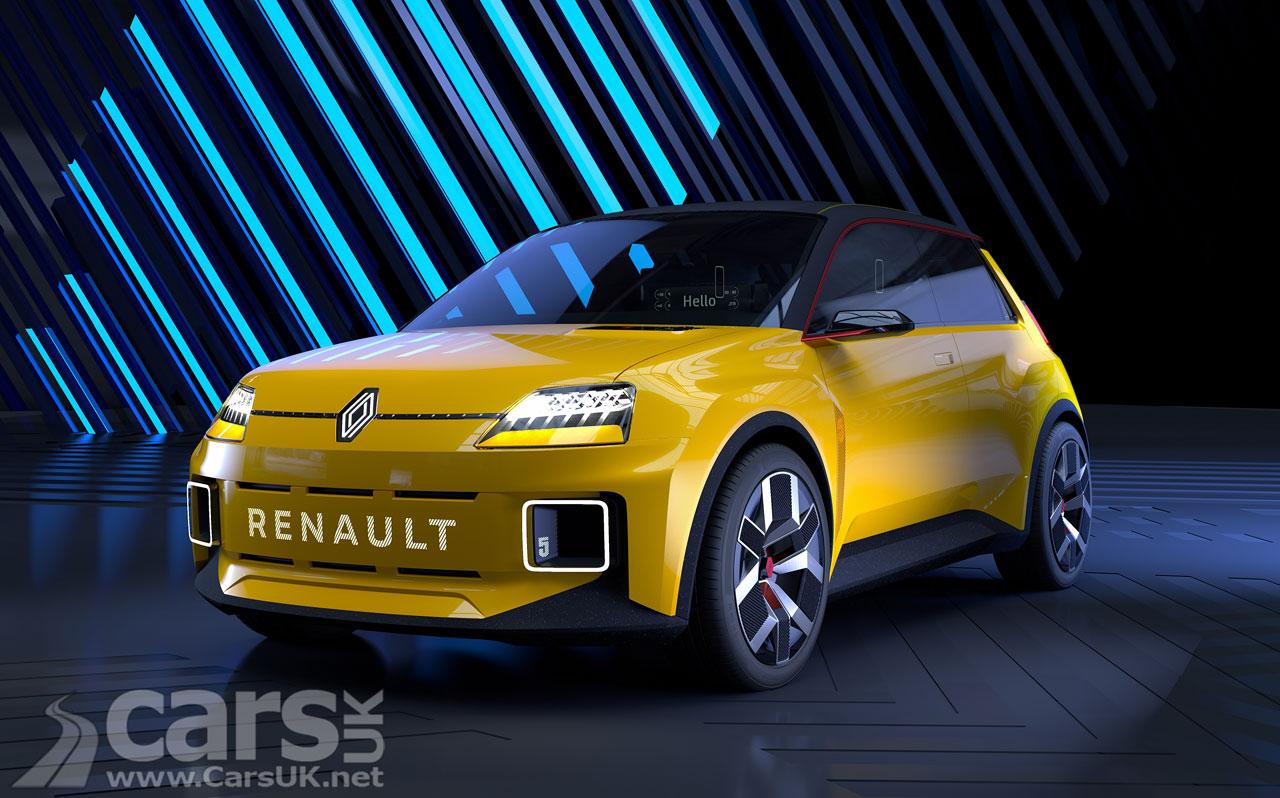 Photo Renault 5 EV Prototype