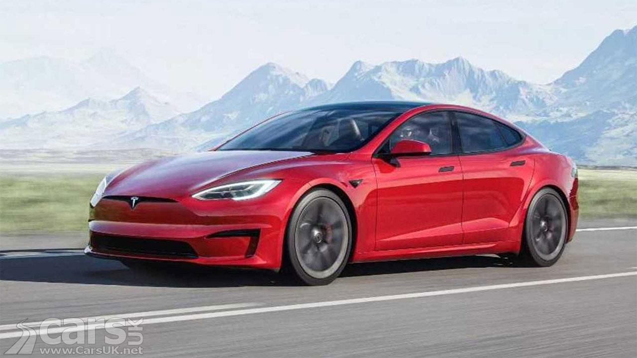 Photo Tesla Model S Plaid+