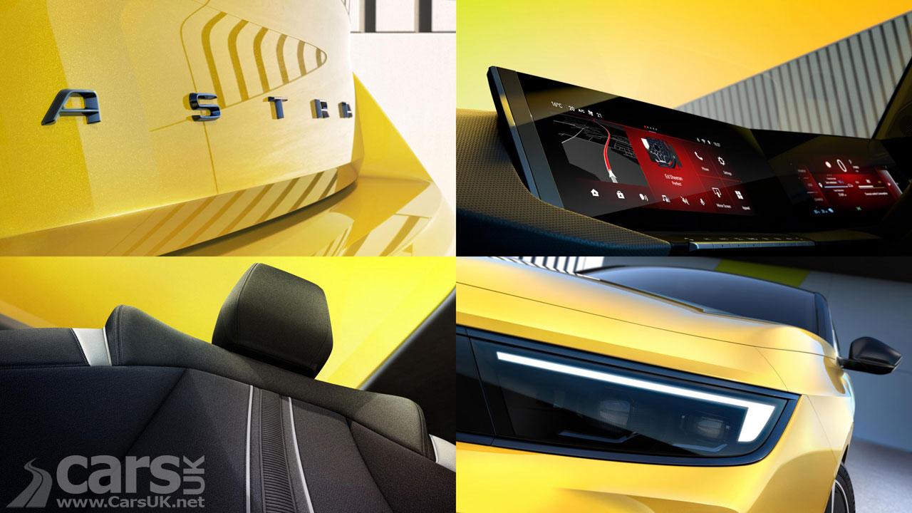 Photo New Vauxhall Astra Tease