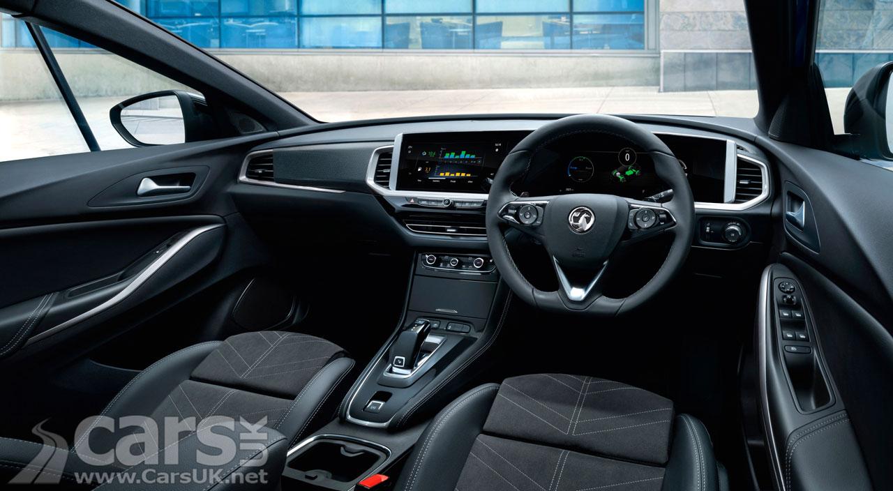 Photo Vauxhall Grandland facelift interior