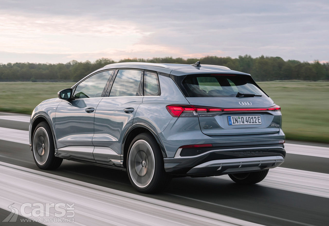 Photo Audi Q4 45 e-tron quattro