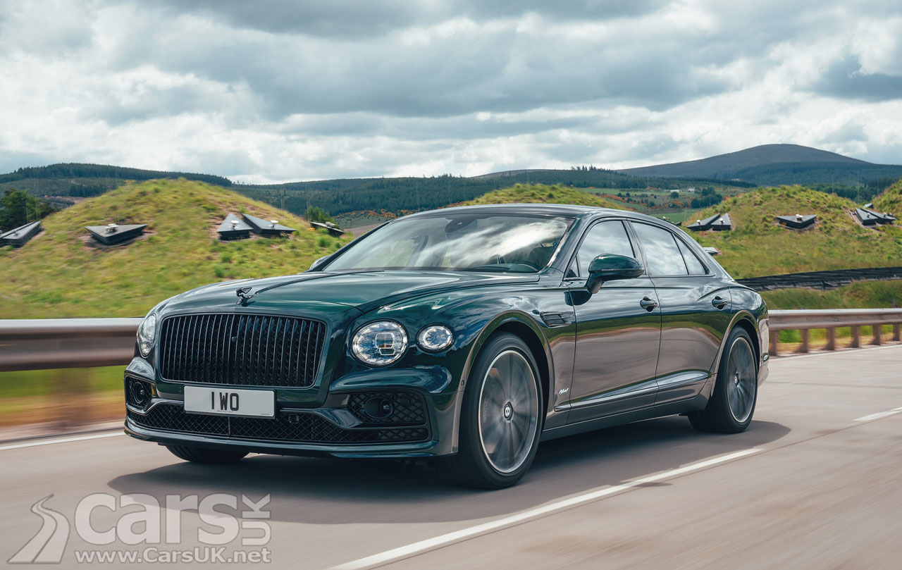 Photo Bentley Flying Spur Hybrid