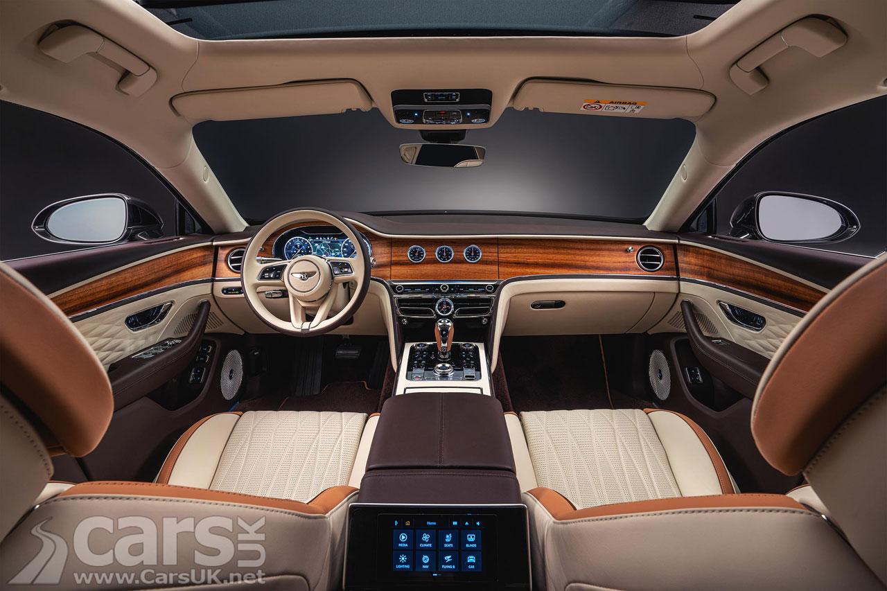 Photo Bentley Flying Spur Hybrid Odyssean Edition Interior